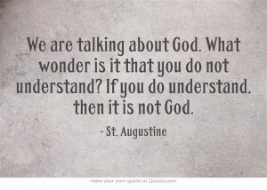 augustine on understanding god